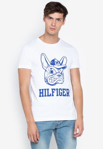 43fa34321c4e Shop Tommy Hilfiger Dog Logo Tee Online on ZALORA Philippines
