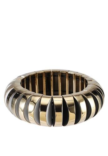 kate spade new york multi Sliced Scallops Large Metal Stretch Bracelet (cv) 946AFACD5B181BGS_1