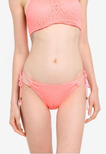 Dorina pink Bahamas Tie Side Bikini Bottom C9D8BUSD09AABEGS_1