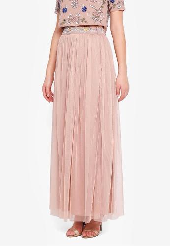 Angeleye pink Mesh Skirt 488E4AAABBF725GS_1