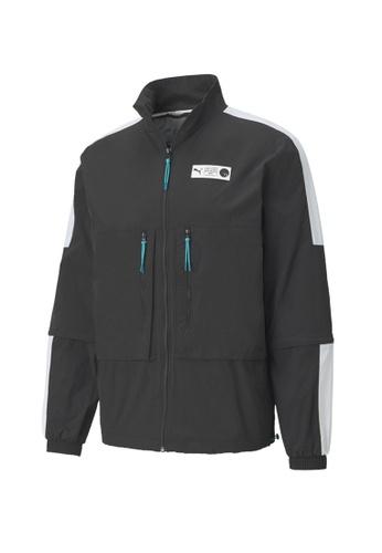 PUMA black Parquet Warm Up Jacket 6E64CAAA8166DDGS_1