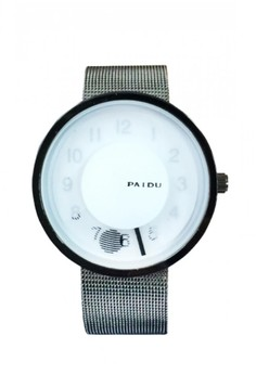 Paidu Stainless Steel Grid Watch