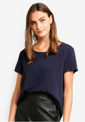 ONLY navy First SS Top 91795AAE2D599EGS_1