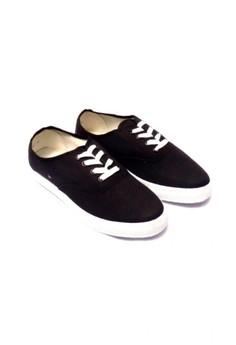 Black Basic Sneakers for Men