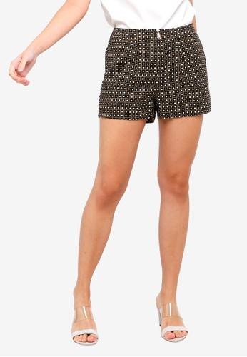ZALORA black and multi Pocket Shorts 4805DAACF2F042GS_1