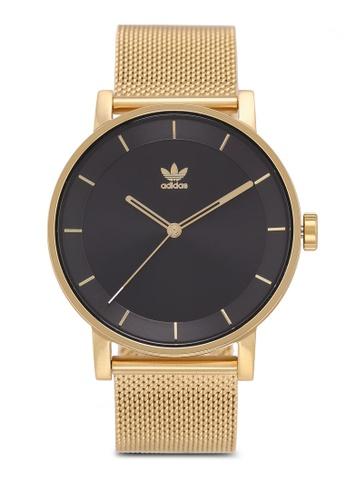 adidas gold adidas originals District M1 Watch 84A36AC49297EEGS_1