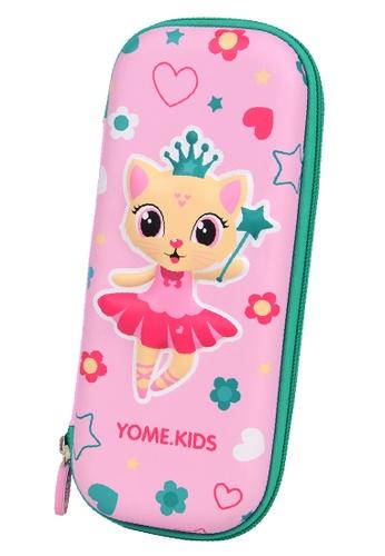 Yome pink YOME Pencil Case Magic Cat E97BFKC2DB9DE9GS_1