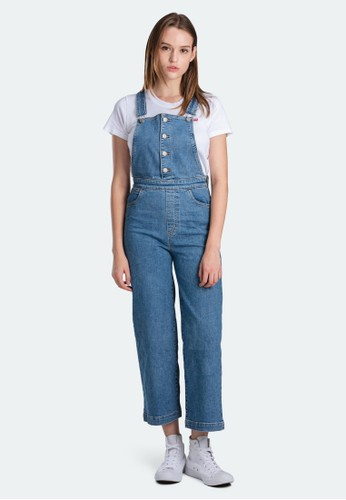 Levi's blue Levi's Mile High Wl Overall Stoned Out Overall (85318-0000) 38A16AA894B955GS_1