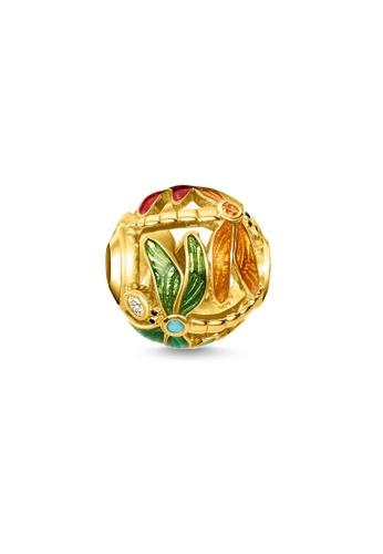 "THOMAS SABO gold Bead ""dragonfly"" 76520AC4AD92CBGS_1"