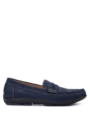 Gibi navy Men's Loafers GI342SH20UWPPH_1