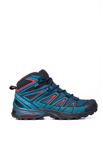 Salomon green Salomon X Ultra 3 Mid GTX Men Reflecting Deep  5DEA8SH69A2DE6GS 1 0596ef938b5d