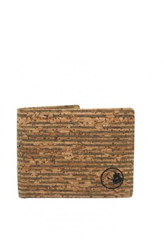 Cork Wallet - Dodger Blue