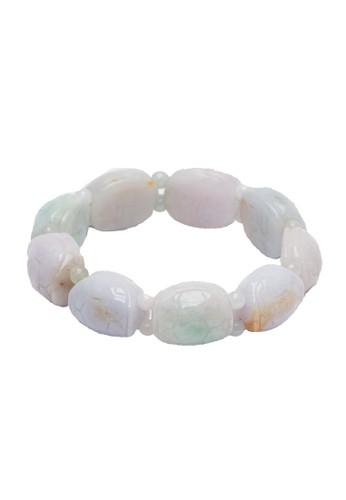Celline Silver grey Turtle Jade Bracelet E2900ACF2ADFCEGS_1