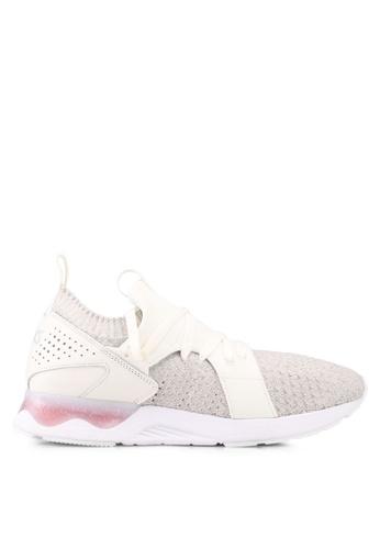 ASICSTIGER white GEL-Lyte V Sanze Knit Shoes AS610SH0SVV5MY_1