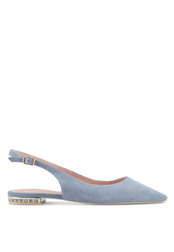 Dune London blue Pearl Detail Flat 215EBSH9E215B0GS_1