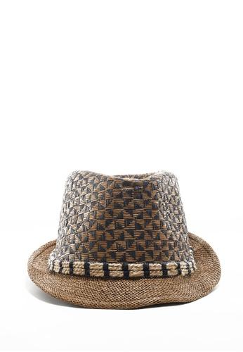 Life8 Straw Panama Hat With Band-05256-Brown LI248AC2UIAPHK_1