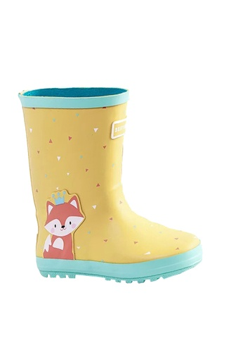 Twenty Eight Shoes yellow VANSA Stylish Cartoon Mid Rain Boots VSK-R15284 2014CKSE6345A5GS_1