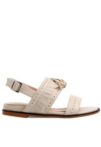 SPUR white Trendies sandal 78BA3SHE45E616GS_1