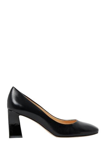 Nina Armando black Florence Leather Mid Heel NI342SH0FV8QSG_1