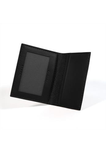 Kulor Cases black Black Leather Bidfold Cardholder BC279ACF120607GS_1