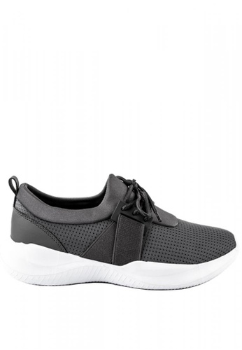Otto grey Lace up Technical Trainers 17997SH5FAE45FGS_1