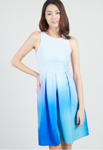 Moss Fashion blue Kallie Dress MO819AA0G2YZSG_1
