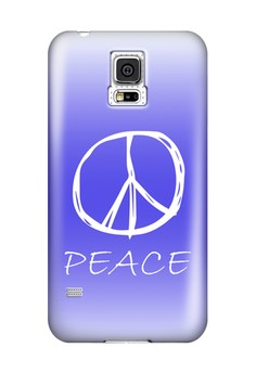 Peace Sign Hard Case for Samsung Galaxy S5