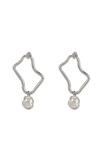 niko and ... silver Pendant Earrings B9B21ACF0272B4GS_1