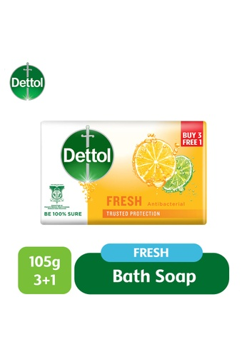 Dettol Dettol Body Soap Fresh 105G 3+1 BB7ECESD105F27GS_1