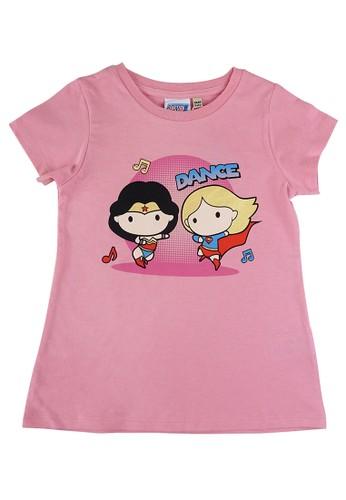 KIDS ICON pink KIDS ICON - Kaos Anak Perempuan Baby DC Super Friends 03-36 Bulan With Printing Detail - JG1K0500200 EE202KA6B742D2GS_1