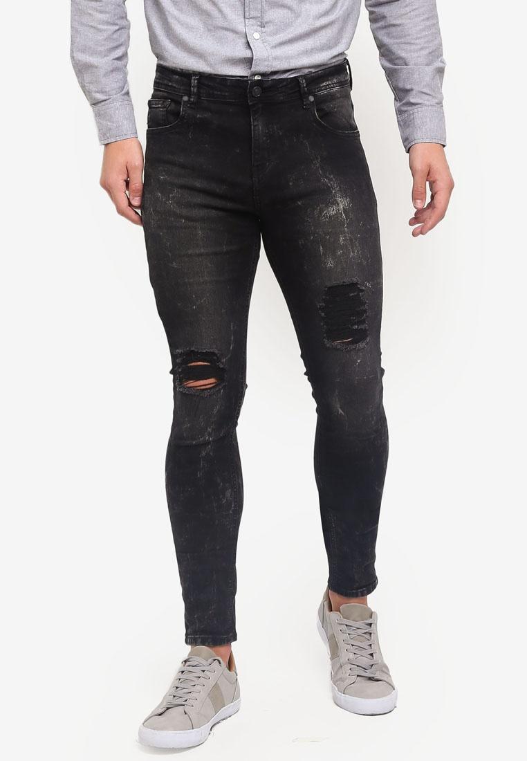 4afbd6d61fb1 Jeans Fit Black Penshoppe Ripped Skinny P0gOg-klausecares.com