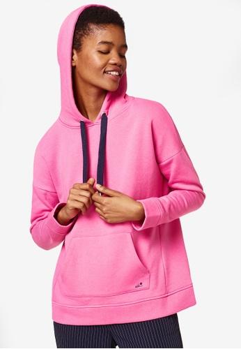 ESPRIT pink Long Sleeve Hoodie 577C3AABAD029BGS_1