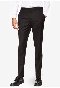 6763a9bed9d Topman black Skinny Suit Trousers TO413AA0SHBVMY 1