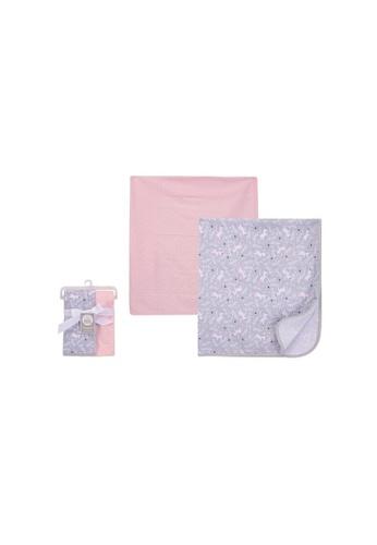 Little Kooma pink Baby Interlock Swaddle Blankets 2pc 51439 - 0821 31813KCD9978A3GS_1