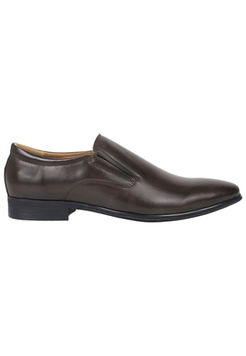Tomaz brown Tomaz F172 Formal Slip On (Coffee) 3F2F0SHB31393DGS_1