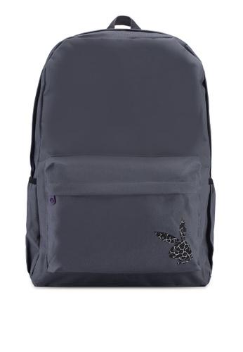 Playboy grey Playboy Backpack 0C688AC808E5F6GS_1