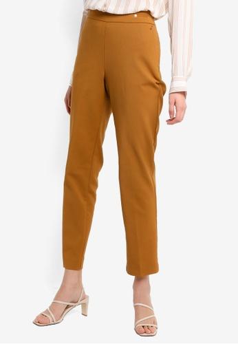 LC Waikiki brown Regular Leg Trousers E9DABAAAA39954GS_1