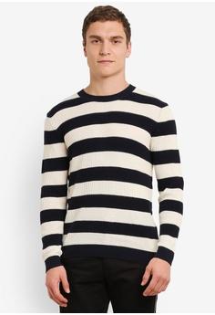Stripe Knit Jumper