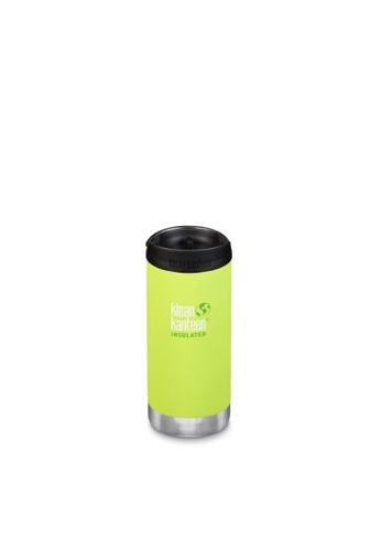 Klean Kanteen green Klean Kanteen Tkwide 12Oz Water Bottle (With Cafe Cap) (Juicy Pear) 4E19DACA2EA63FGS_1