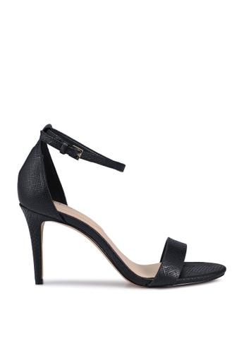 ALDO 黑色 Piliria Piliria Open Toe Ankle Strap Stiletto Heels 7F8B9SH8FBE505GS_1