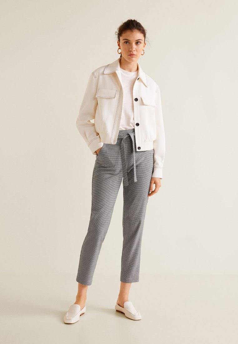Trousers Mango Mango Black Trousers Suit Cotton Suit Black Mango Cotton Cotton YzrwZCqz