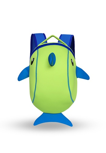 Nohoo green Nohoo Kids Backpack Dolphin (Green) 387FAKCBBB436BGS_1