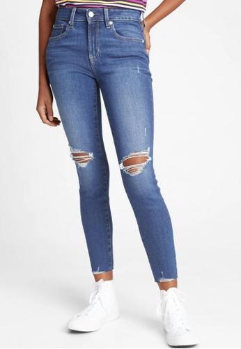 Gap blue Medium Rise Legging Jeans 92BA3AAF422FADGS_1