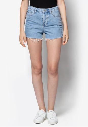 Mototopshop代購 水洗Ashley牛仔短褲, 服飾, 休閒短褲