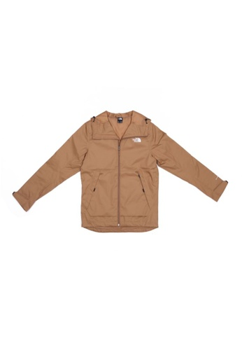 The North Face brown The North Face Men's Millerton Snap In Jacket Utility Brown 32D57AA922A543GS_1