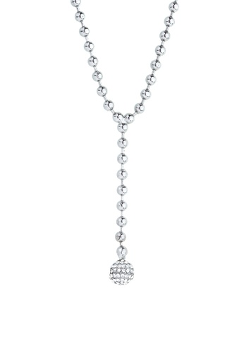 6e99bcb93afe Shop Luxor Jewelry White Gold Plated Necklace Online on ZALORA Philippines