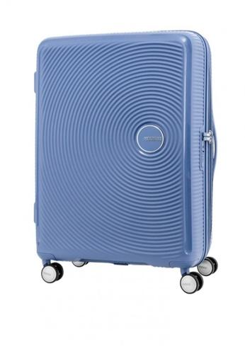 American Tourister blue Curio Spinner 80/30 Exp TSA Denim 98CEEAC30BA95AGS_1
