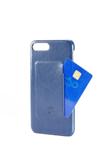 Life8 blue Formal Phone Card Case & Card Holder-05301-Blue LI283AC0GP0HSG_1