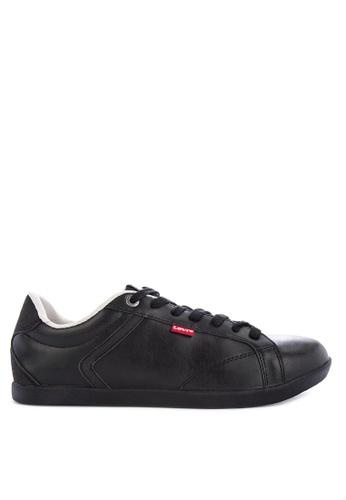 Levi's black LOCH DERBY Sneakers 14CCCSH2A3BEB6GS_1