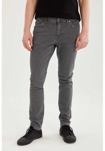 DeFacto grey Slim Trousers 72D90AA8435C26GS_1
